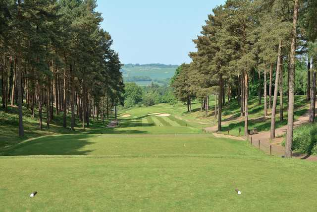 A view from the 11th tee at Westerham Golf Club