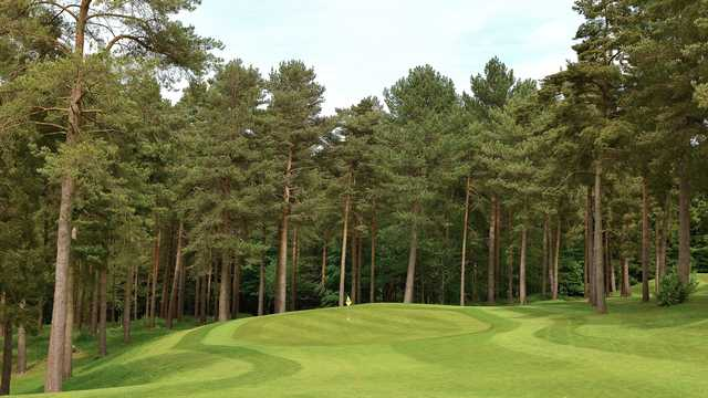 View of the 17th hole at Westerham Golf Club