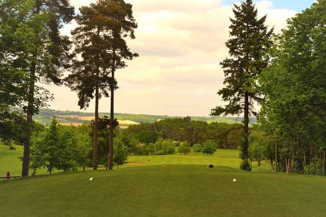 View from the 2nd tee at Westerham Golf Club