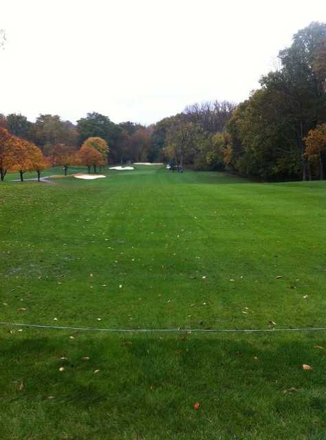A view of the 9th faiway at York Golf Club