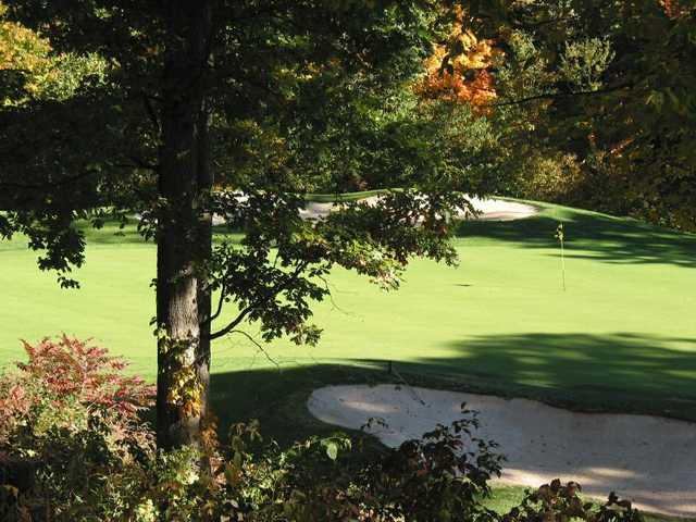 A view of green #11 at York Golf Club