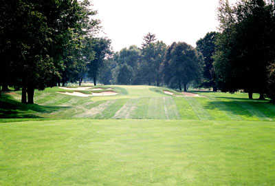 A view from the 4th tee at Scioto Country Club