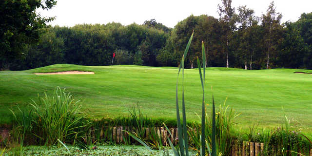 A view of hole #5 at Middlesbrough Golf Club.