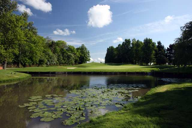 View of the 12th green at Belfry Golf Club - The Brabazon Course