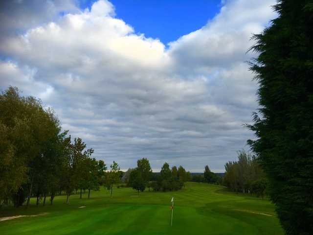 A view from Radlett Park Golf Club