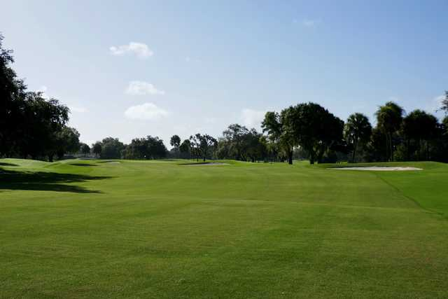 View from a fairway at Jacaranda West Country Club