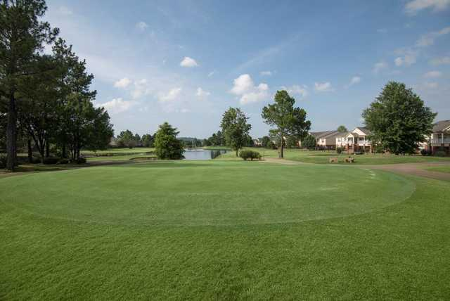 View of a green from The Links at Fort Smith Golf & Athletic Club