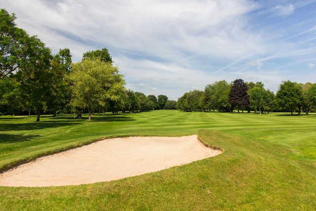 A view of a fairway at Tiverton Golf Club.