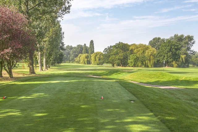 A view from a tee at Ealing Golf Club.