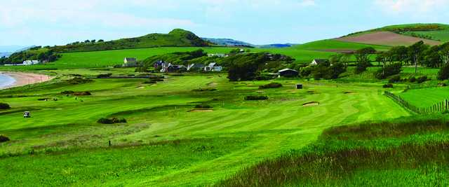 A view of hole #3 at West Kilbride Golf Club.