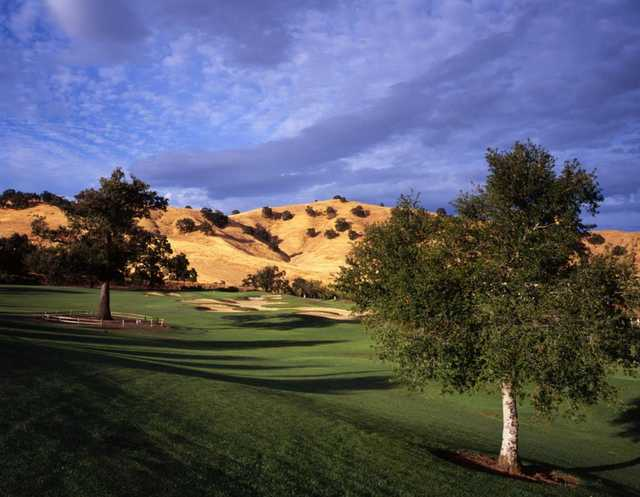 A view of the 14th green at Paradise Valley Golf Course.