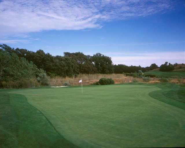 A view of hole #3 at Paradise Valley Golf Course.