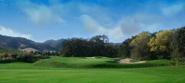 A view of the 2nd hole at Paradise Valley Golf Course.