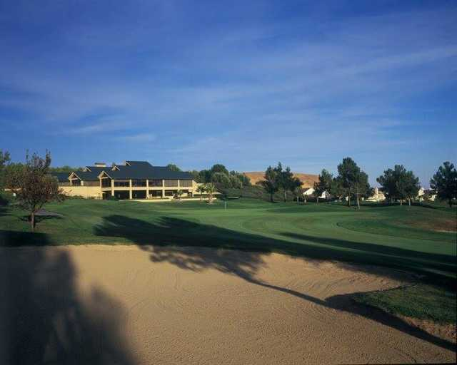 A view of hole #9 at Rancho Solano Golf Course.