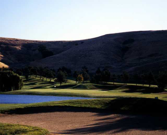 A view of the 11th hole at Rancho Solano Golf Course.