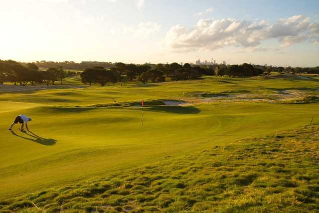 A view of hole #14 at Bonnie Doon Golf Club.