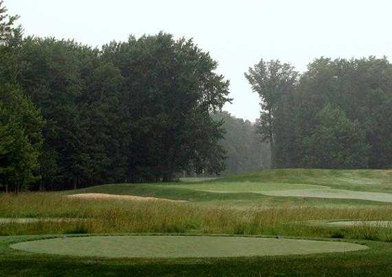 A view from the 17th tee at Winding Hollow