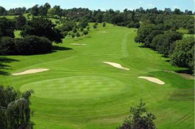 View of a green at Hallmark Hotel Stratford-upon-Avon The Welcombe