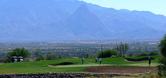 A view from Canoa Ranch Golf Club.