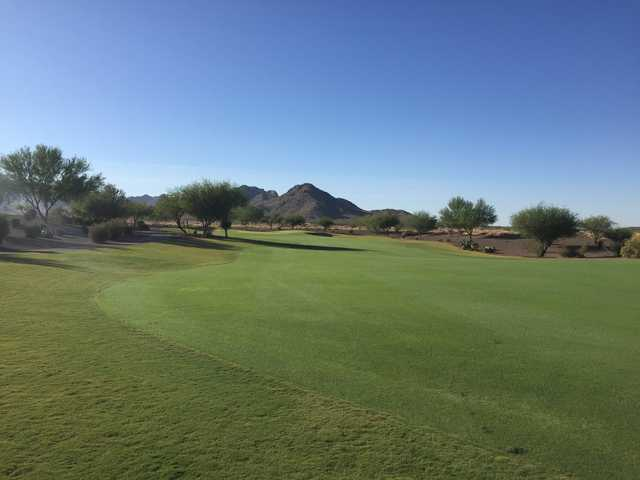 A view of a fairway at Copper Canyon Golf Club.