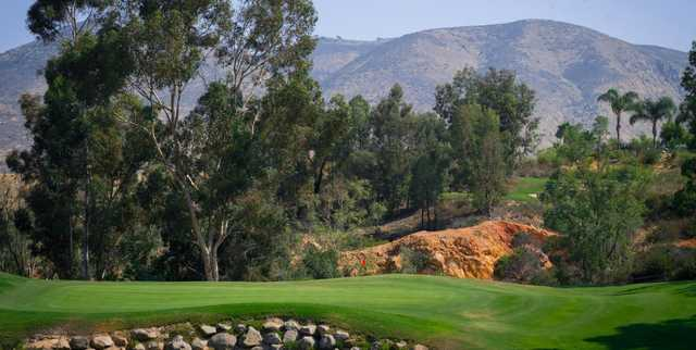 A view of a green at The Crosby Club.