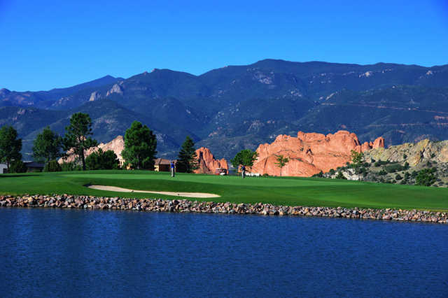 A view of hole #3 at West from Garden of the Gods Club.
