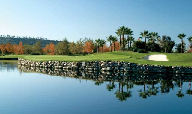 A view over the water from Talega Golf Club.