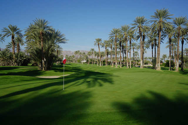 A view of a hole at Palms Golf Club.