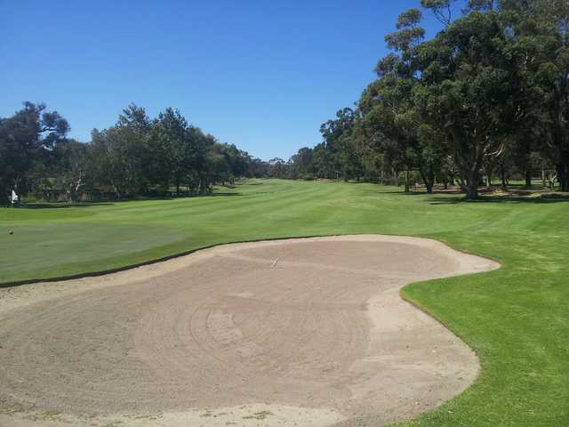 A view from Busselton Golf Club