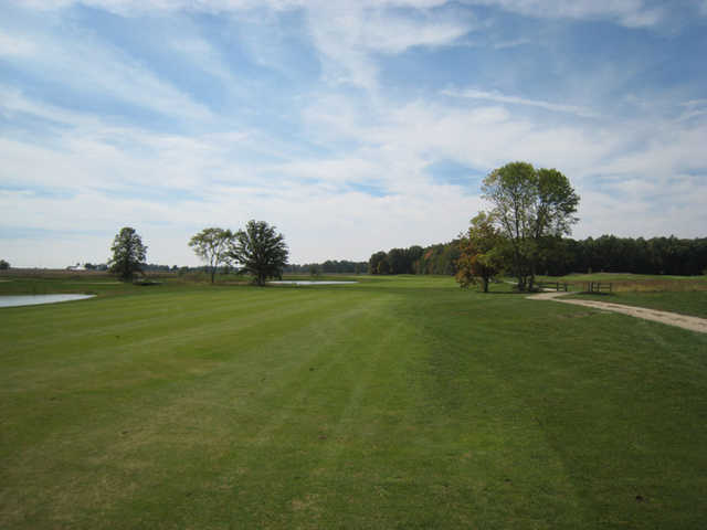 A view of fairway #3 at The Ridge Golf & Gardens