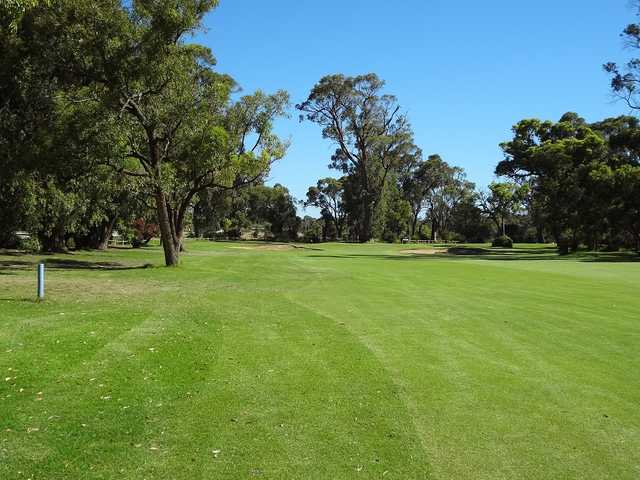 View from a fairway at Kwinana Golf Club