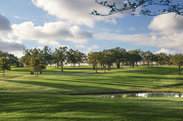 A view from Lady Bird Johnson Golf Club.