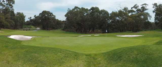 View of the 9th hole from Lang Lang Golf Club.