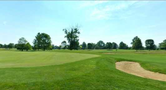 A view of hole #17 at Shamrock Golf Club
