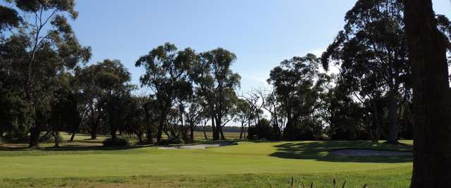 A view from Lang Lang Golf Club