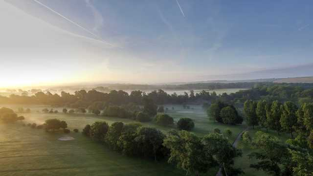 Misty morning at Southwick Park Golf Club