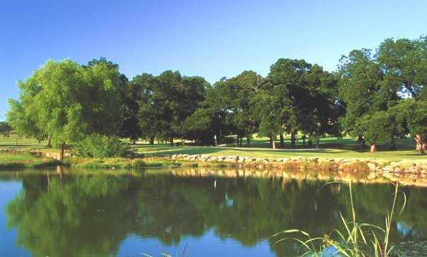 A view of a green at Rockwood Golf Course.