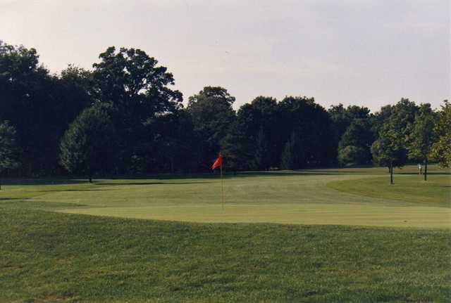 A view of hole #10 at Blackhawk Golf Club
