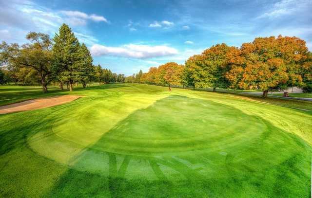 A view of the 5th hole at Beechwood Golf Course.
