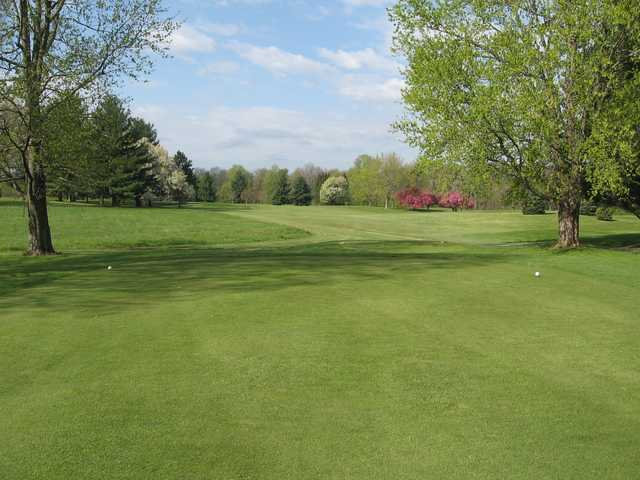 A view from a tee at Killbuck Golf Course.
