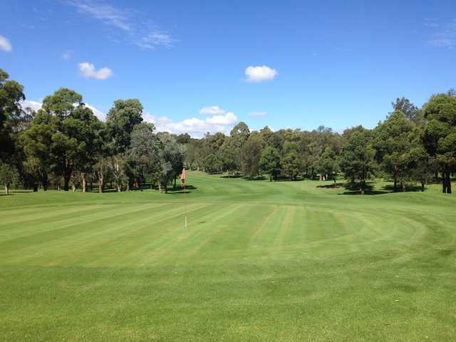 View of a green at Woodville Golf Club