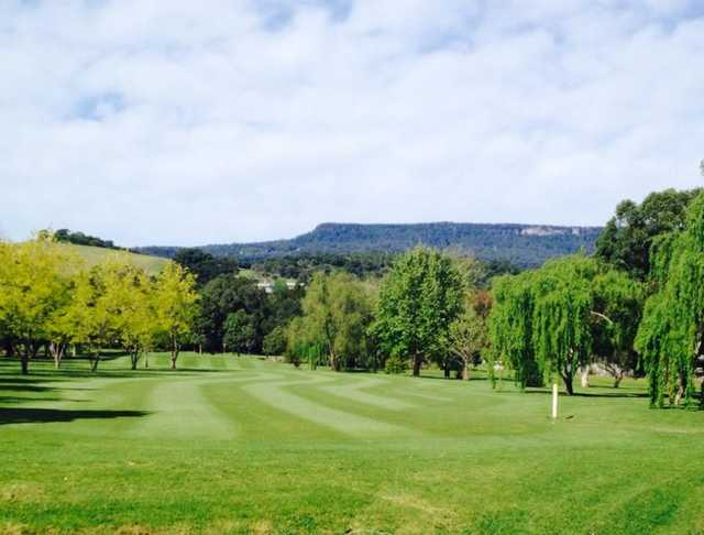 A view of a fairway at Jamberoo Golf Club.