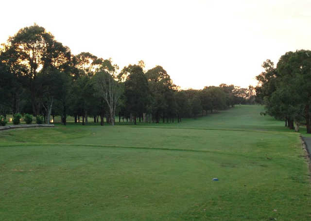 A view from a tee at Woodville Golf Club.