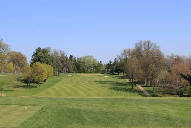 A view from a tee at Kenwood Country Club.