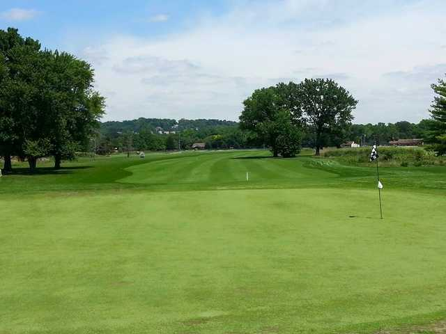 A view of a hole at Regulation from Reeves Golf Course.