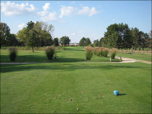 A view from the 8th Championship tee at Upper Lansdowne Golf Course