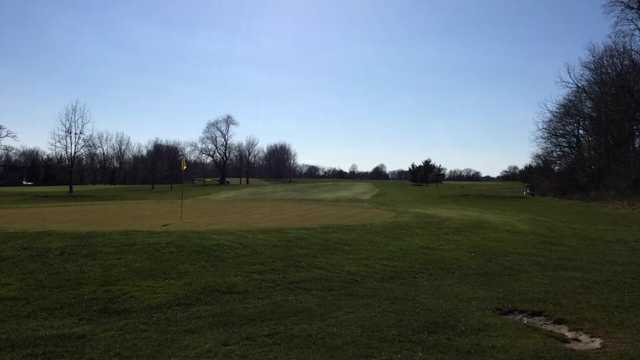 A view of a green at Wawasee Golf & Country Club (Alan Goodoien).
