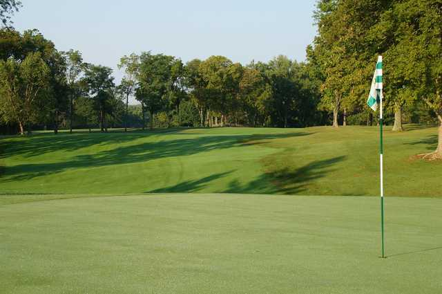 A view of a green at Stillmeadow Country Club.