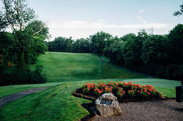 A view of fairway #17 at Western Hills Country Club.