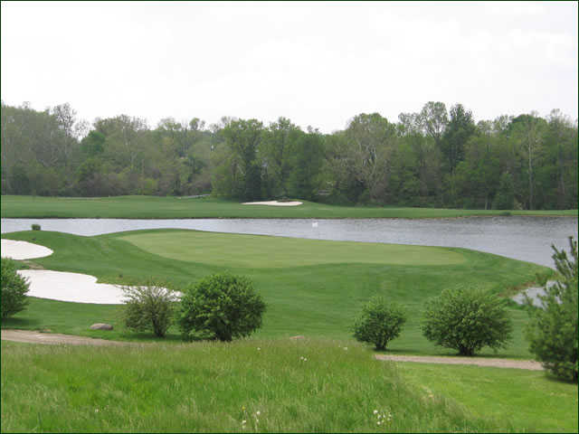 A view of the club's signature hole #3 at Upper Lansdowne Golf Course